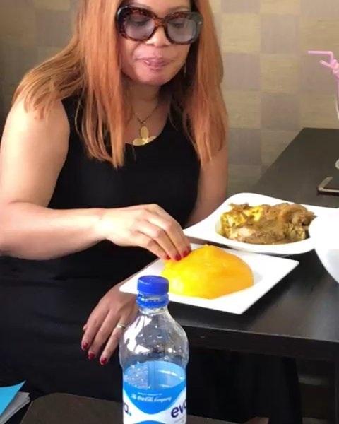 Monalisa Chinda pictured