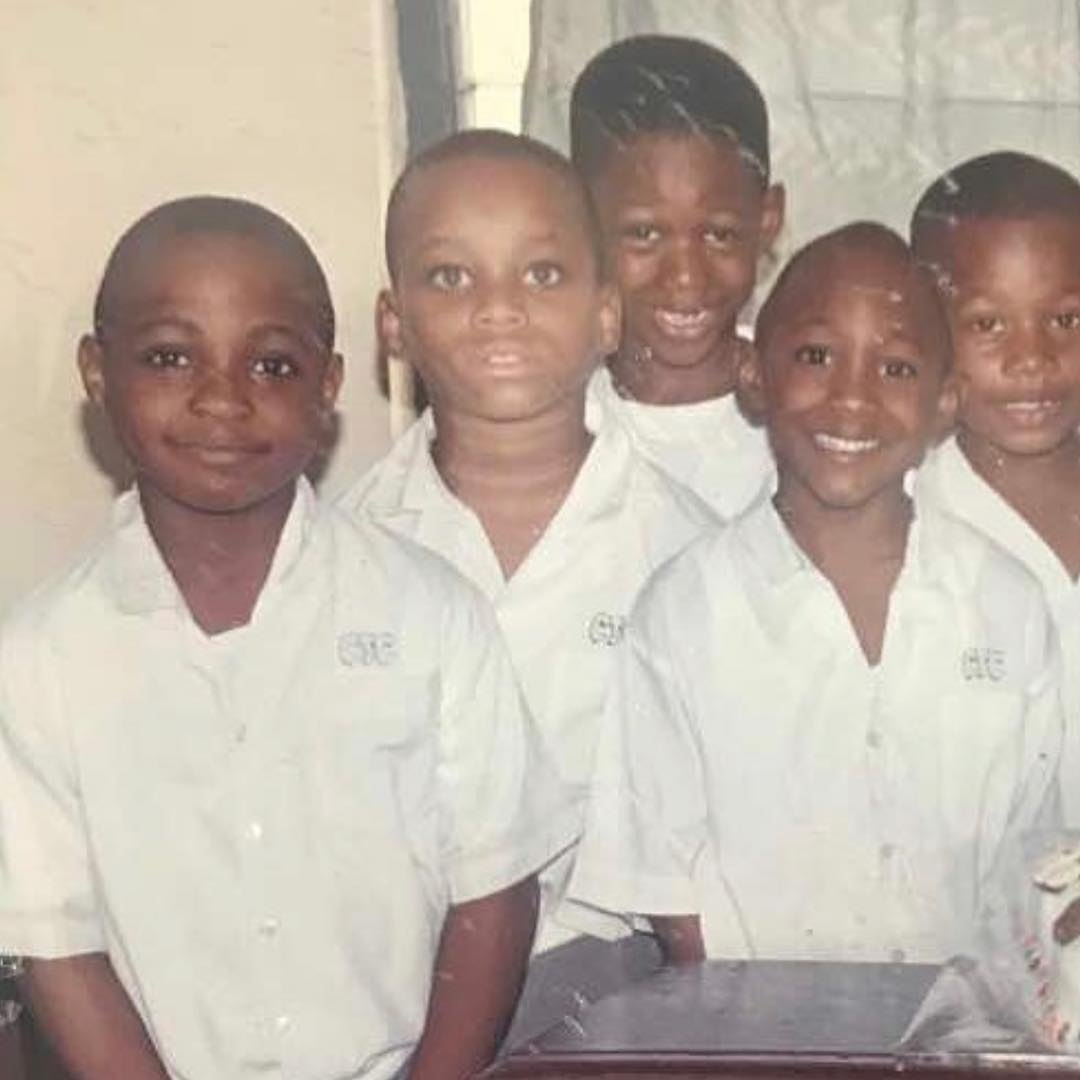 Young Davido Spotted