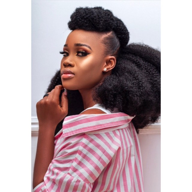 CeeC shares lovely photos as she debuts new hairdo