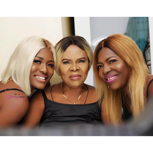 BBN's Alex shares stunning three generation photos with her mother and grandmother