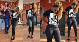 Mercy Johnson loses weight