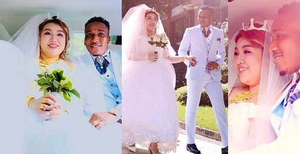 Image result for Nigerian Big Boy weds his Chinese Girlfriend (photos)