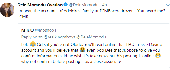 Dele Momodu confirms