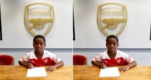 Arsenal Sign 9-Year-Old Nigerian Wonderkid