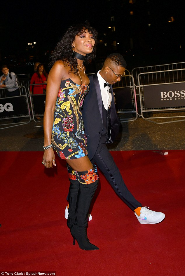 , Wizkid Pictured With Naomi Campbell At GQ Men Of The Year Awards, No. 1 Information Arena