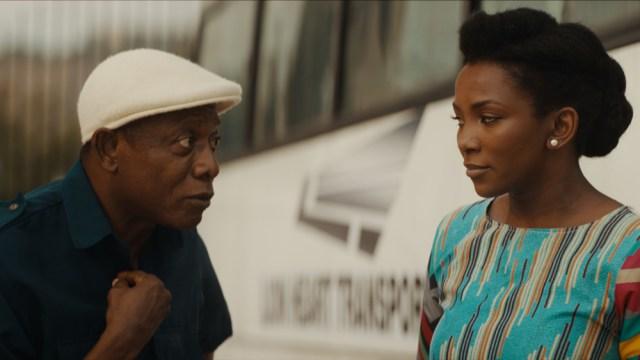 Genevieve Nnaji speaks