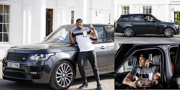 Image result for Anthony Joshua's £150k Customized Range Rover Stolen