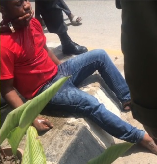 taxify driver suffers seizure