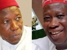 Governor Ganduje receiving another bribe
