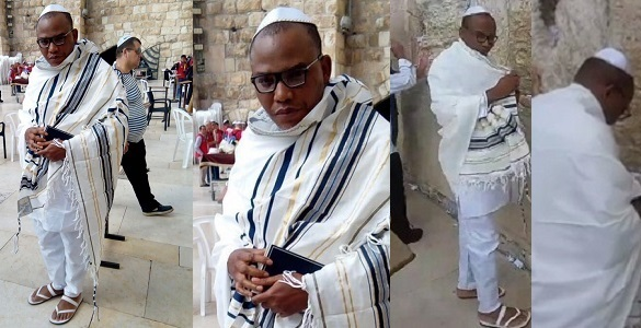 Image result for Nigerians react to sudden reappearance of Nnamdi Kanu in Jerusalem one year after he went missing