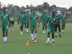 Super Eagles Begin Training