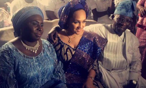 Tania Omotayo holds traditional wedding