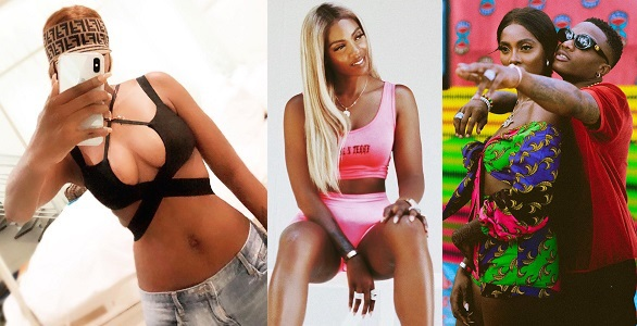 Image result for Someone thinks I'm hot — Tiwa Savage says as she flaunts cleavage and flat bare belly