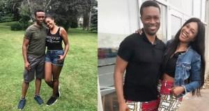 Omoni Oboli and husband Nnamdi