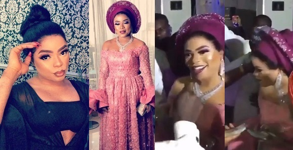 Image result for Going to jail? Bobrisky makes it rain at wedding a week after it was declared as an offense (Photos+Video)