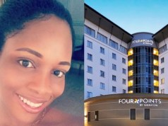 Lady denied entry into a Lagos hotel for having no man beside her, cries out