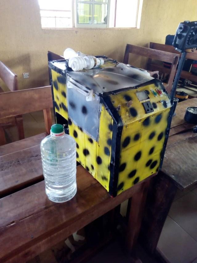 PHOTOS: Village School Children invent Generator That Runs On Water