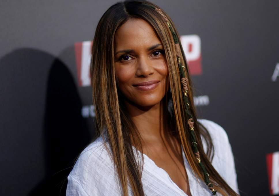 Halle Berry blasts man