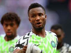 Mikel Obi's World Cup jersey