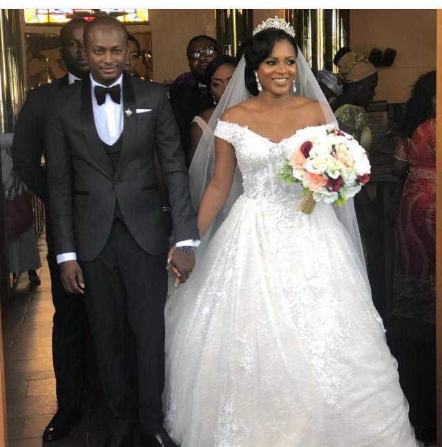 Lovely photos from 2face's brother's wedding, Charles Idibia to heartthrob, Rosie Marie