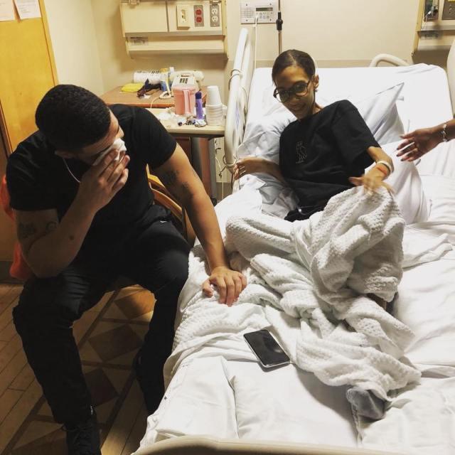 Drake mourns