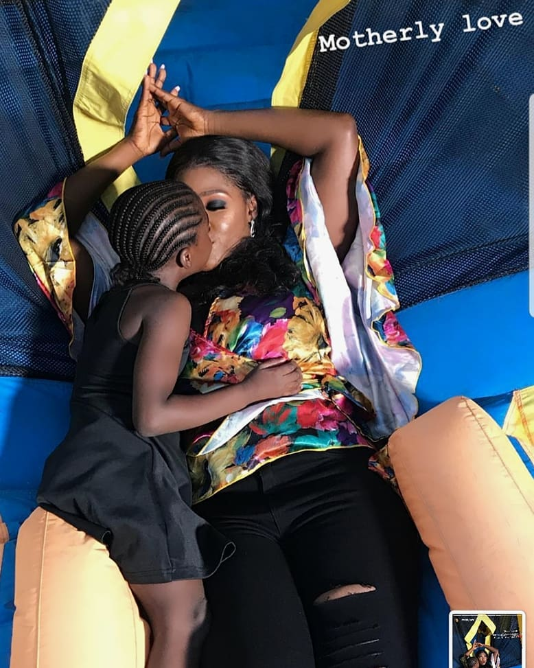 Mercy Johnson Okojie and daughter serve mother-daughter goals