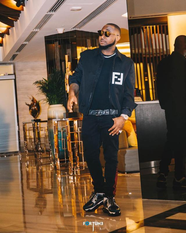 Davido Flaunts His Second Pre Birthday Gift; A Diamond Encrusted Ice Chain