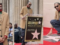 Snoop Dogg gets a star