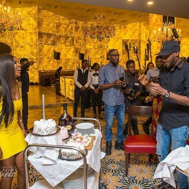 Beautiful Photos From Annie Idibia's 34th Birthday Dinner