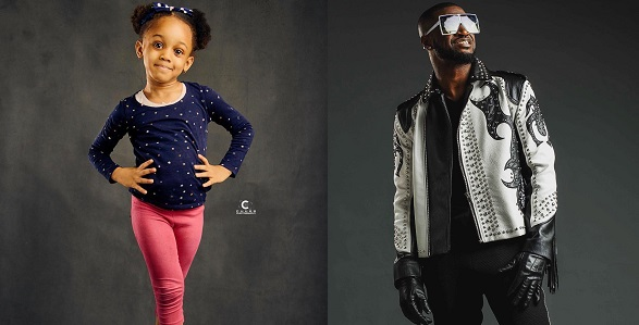 Image result for No family feud after all? Peter Okoye celebrates Jude Okoye's daughter.