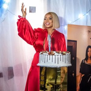 Stunning photos From Toke Makinwa's 34th Birthday (See Photos)