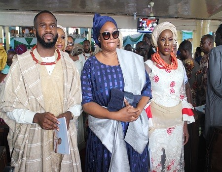 Some Photos from the burial of Chief Ope Bademosi who was murdered by his cook