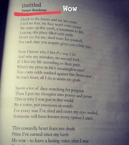 Tosyn Bucknor wrote
