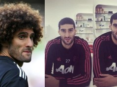 Marouane Fellaini cuts