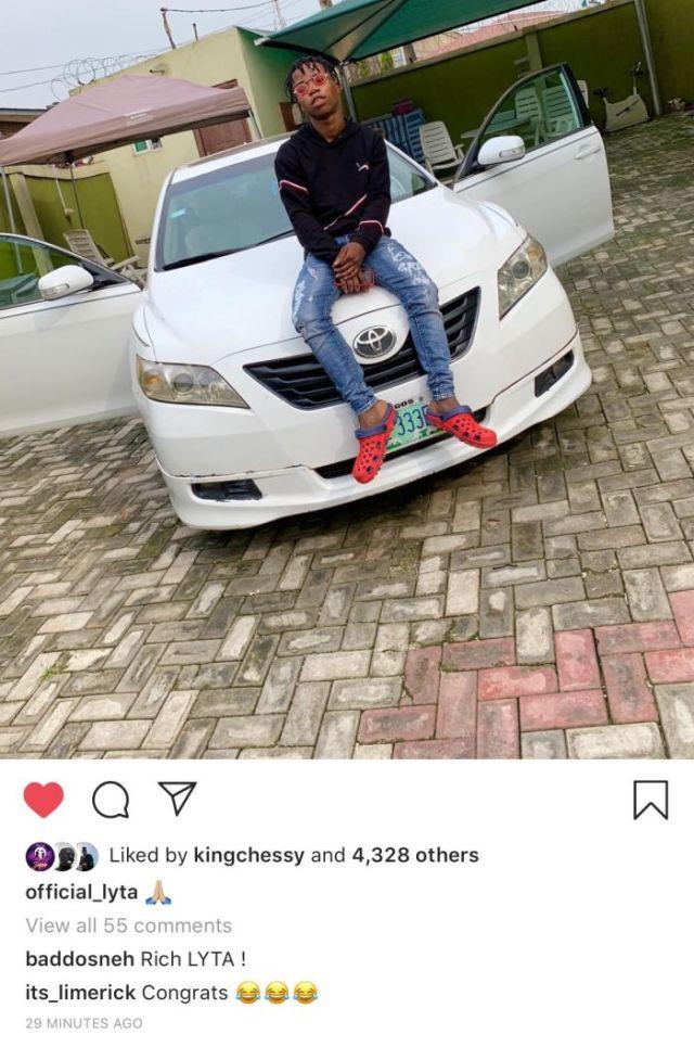 Lyta acquires car