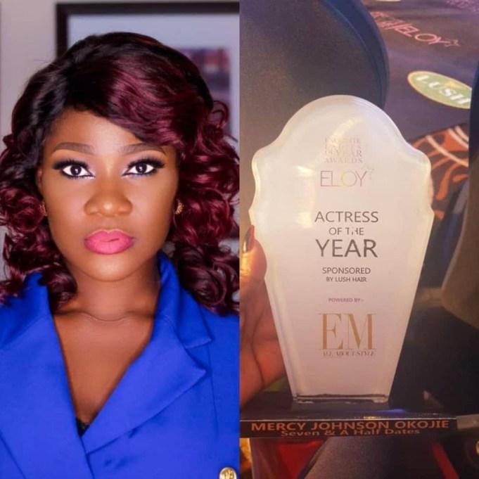 Mercy Johnson Wins Actress Of The Year At Eloy Award 2018