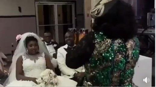 Pastor tells bride