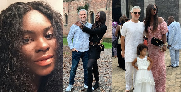 Image result for Nigerian lady married to a white man explains why some white men refuse to date Nigerian girls.