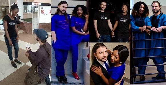 Image result for Pre-wedding photos of American man who proposed to his 'online Nigerian girlfriend' in Abuja after meeting her for the first time