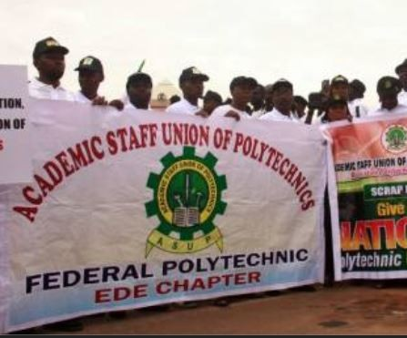 Academic Staff Union of Polytechnics (ASUP) begin indefinite strike