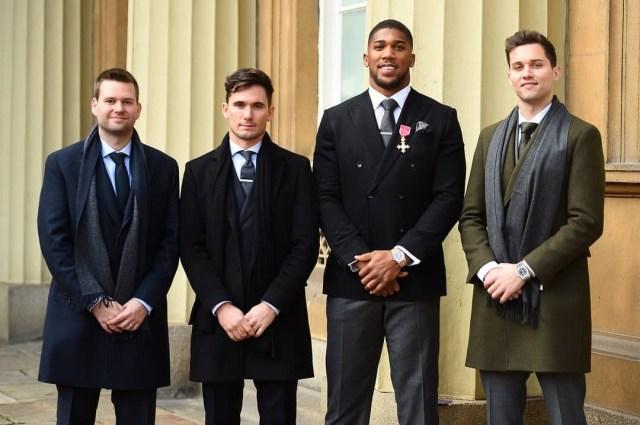 Anthony Joshua awarded OBE