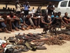 7 suspected armed robbers arrested