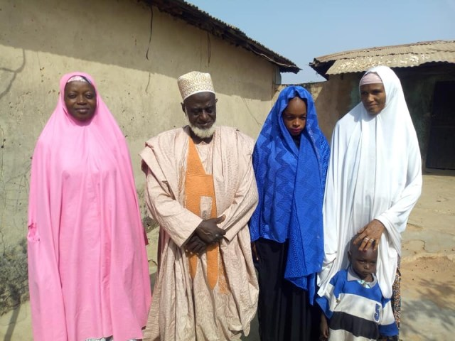 Alhaji Yakubu1 - 70-year-old Alhaji marries much younger girl in Niger State (Photos)