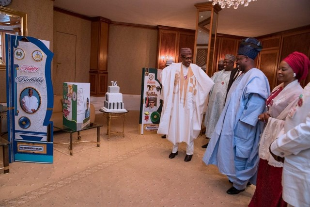 President Buhari's 76th birthday celebration