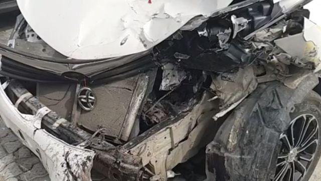 BBNaija Khloe crashes car