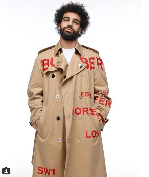 Mohamed Salah covers GQ