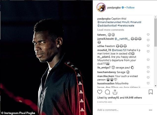 Manchester United fine Paul Pogba