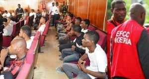 EFCC arraigns 24 yahoo boys