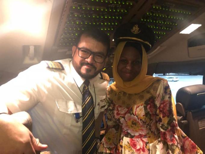 Meet The 14-Year-Old Nigerian Girl Who Excites Pilots In Their Cockpits