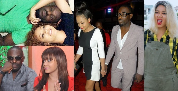 Image result for Nadia Buari replies a fan who said Jim Iyke was possessed for leaving her